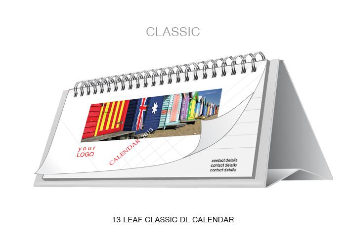 7 Leaf Classic dl Calendar